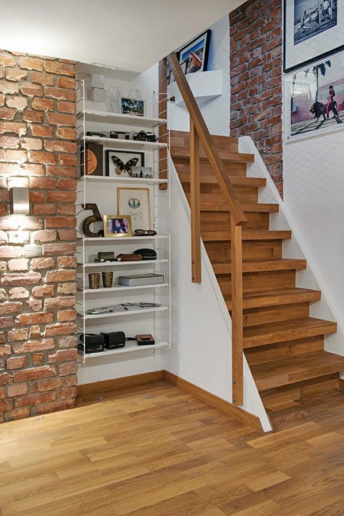Mur De Cadres Escalier Cratif Escalier Loft Accrocher