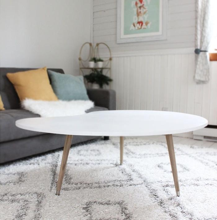 fabriquer une table basse