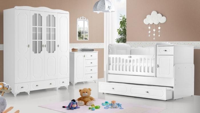 chambre bebe mixte