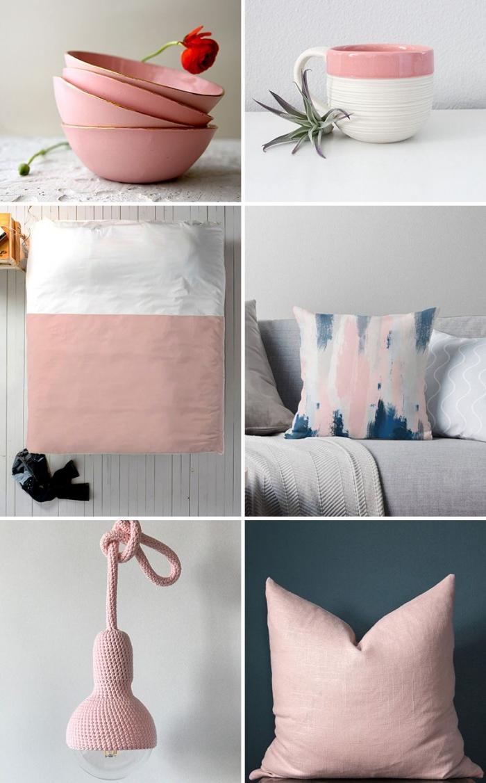 Salon Rose Poudre Cheminee Eco Vraie Photo Fonce Salon Interieur