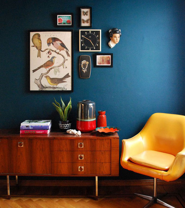 Deco Salon Bleu Canard Playme Top