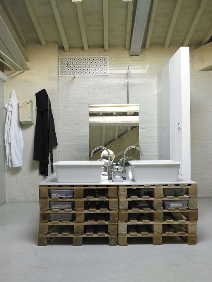 1001 Idees Originales Pour Un Meuble Salle De Bain Recup