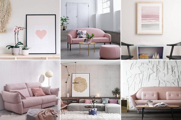 exemples inspirants pour une deco rose