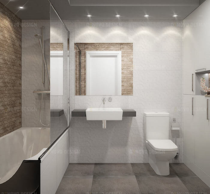 1001  ides  Salle de bain beige et gris  pierre deviendra sable