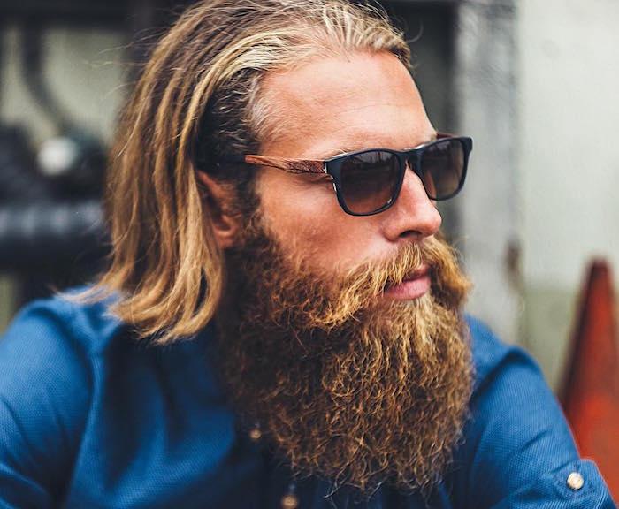 1001 Ides Coiffure Homme Cheveux Longs Crinire