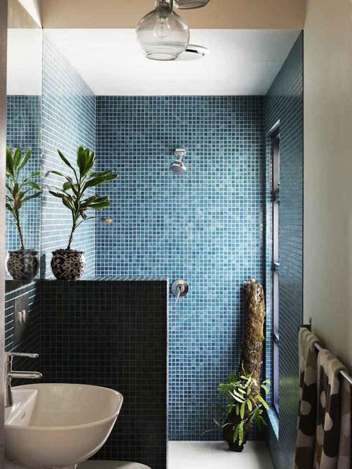 1001  ides  Salle de bain italienne petite surface  les deux pieds sur terre