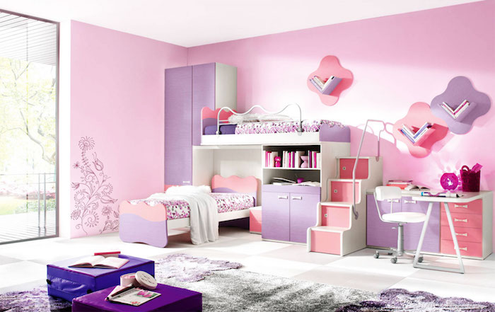 Chambre Filles Blanche