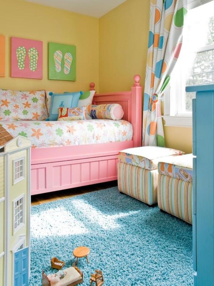 1001  ides  Peinture chambre fille  variez les palettes