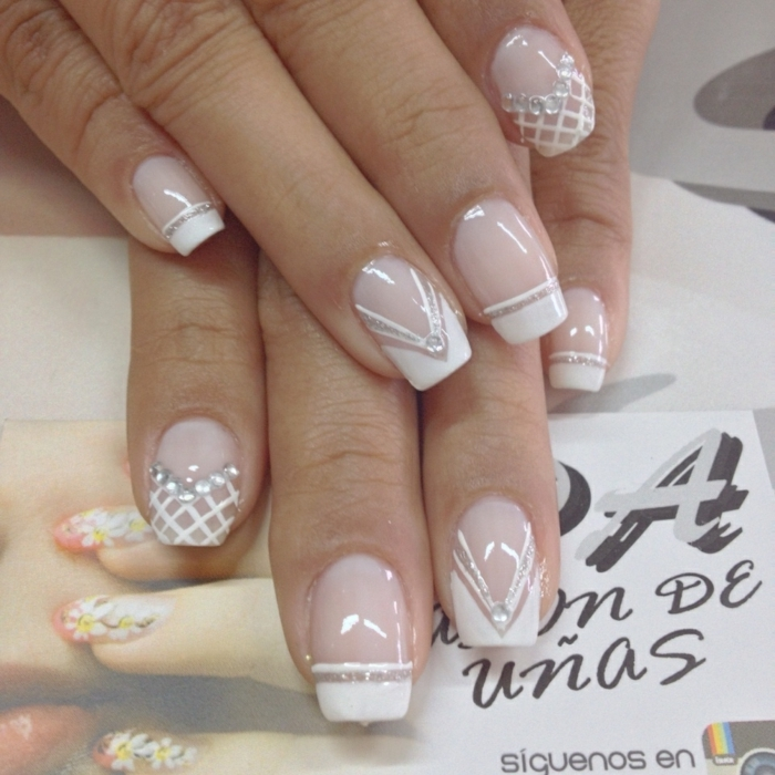 Deco Ongle Mariage Beautiful Charming Dessin Pour Ongle