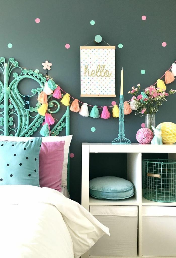Chambre Ado Bleu Canard Simple Styles For Your Avec
