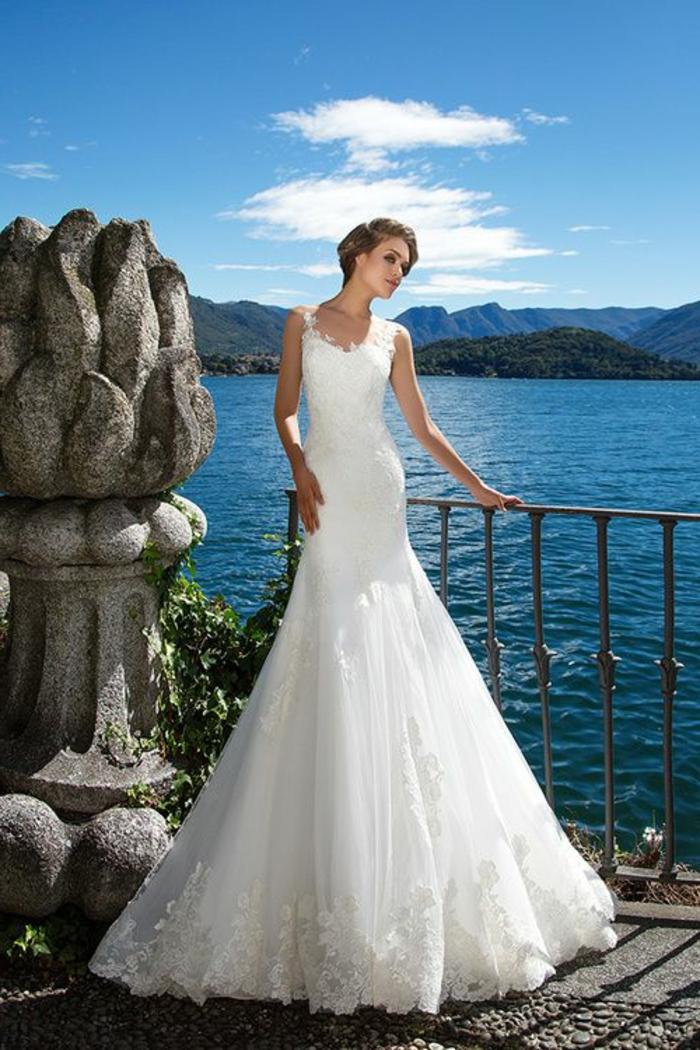 1001  Ides pour une robe de marie sirne  comment la porter