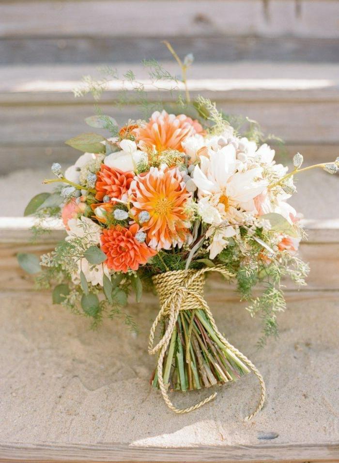 1001  compositions de bouquet champtre pour mariage