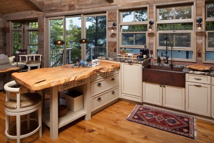 exemples pharamineux de la cuisine en bois