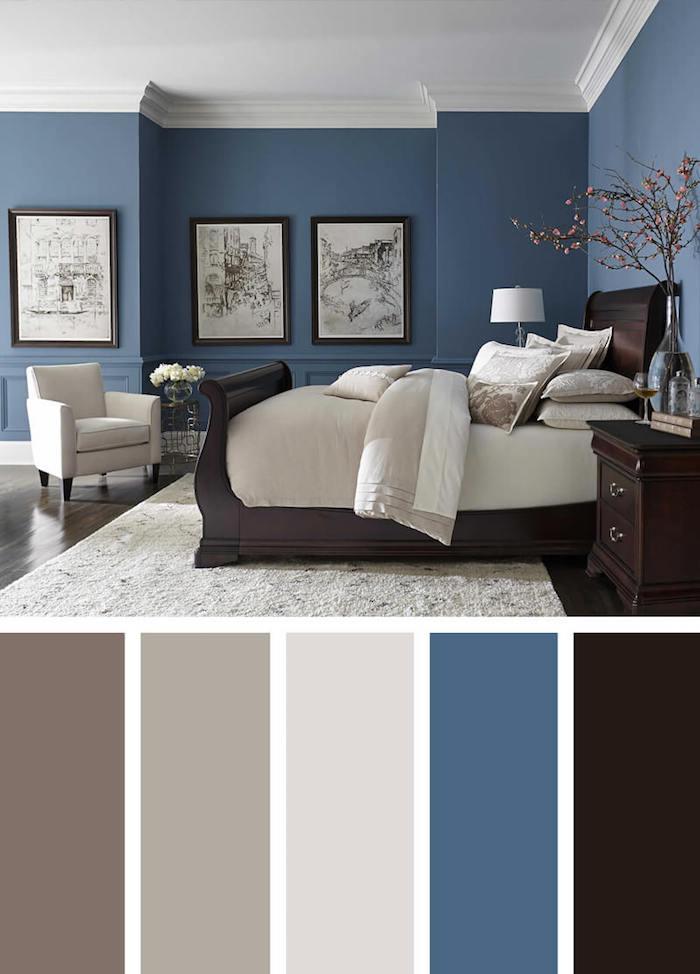 1001  photos et ides pour trouver la couleur idale pour chambre adulte