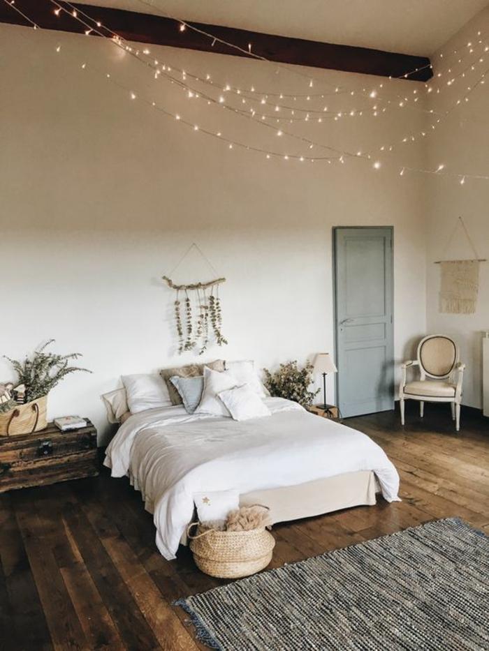 1001  Ides pour une guirlande lumineuse pour chambre  dco chambre cocoon