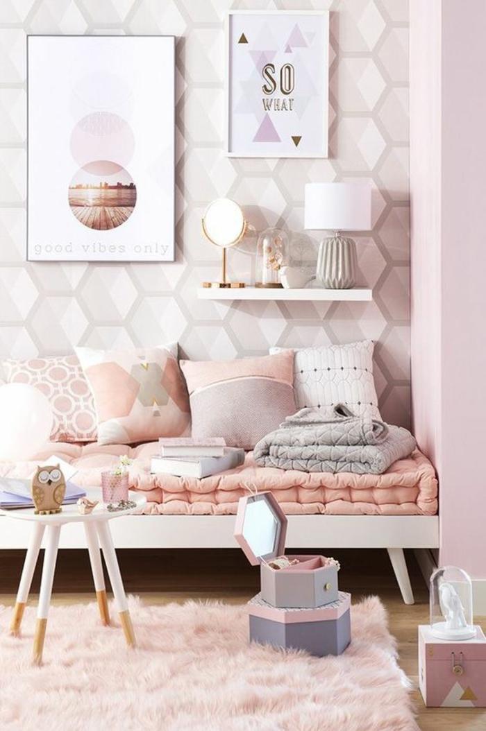 1001 idees pour une chambre rose