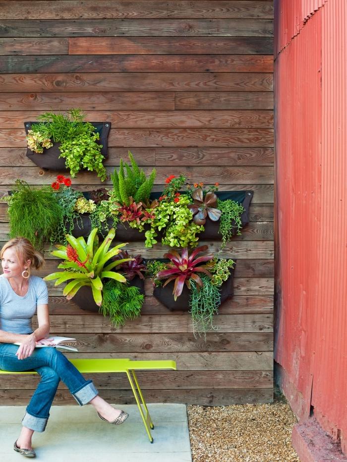 Faire Un Mur Végétal Extérieur : faire, végétal, extérieur, Idées, D'aménagement, Jardin,, Balcon, Terrasse, Végétal, Extérieur