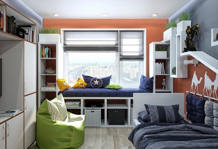 Petite Chambre Enfant   Inspiration: Une Chambre, Deux ...
