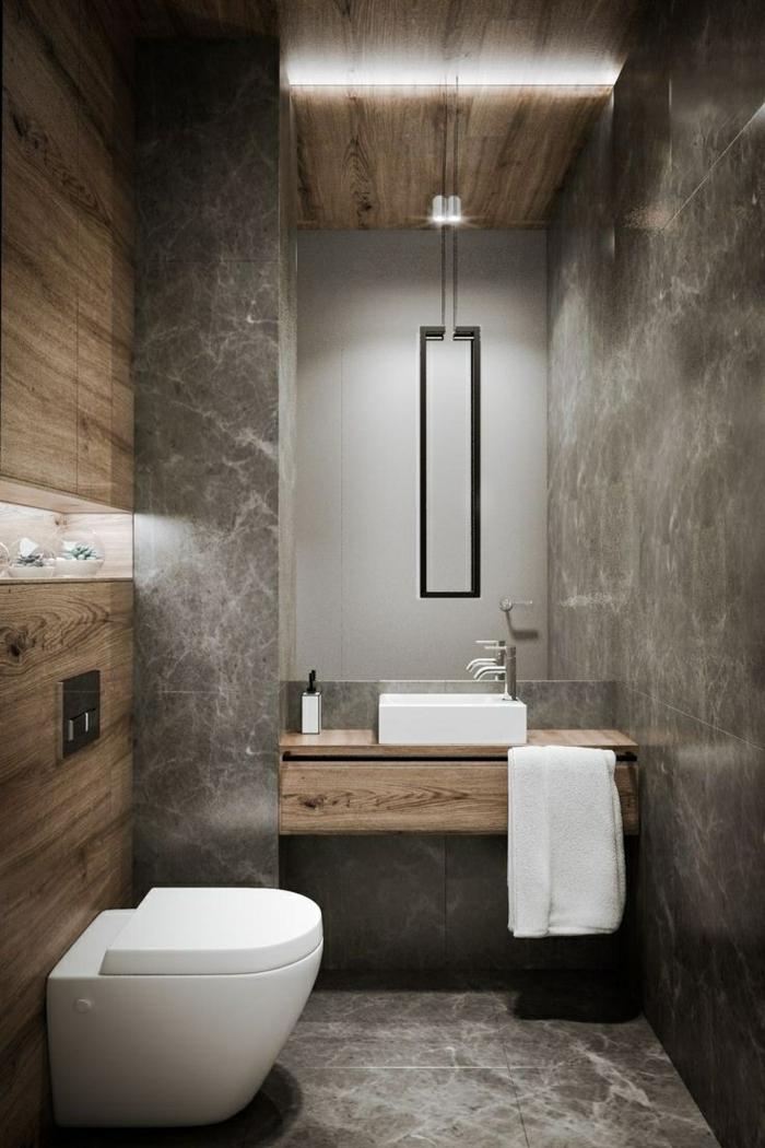 salle de bain industrielle