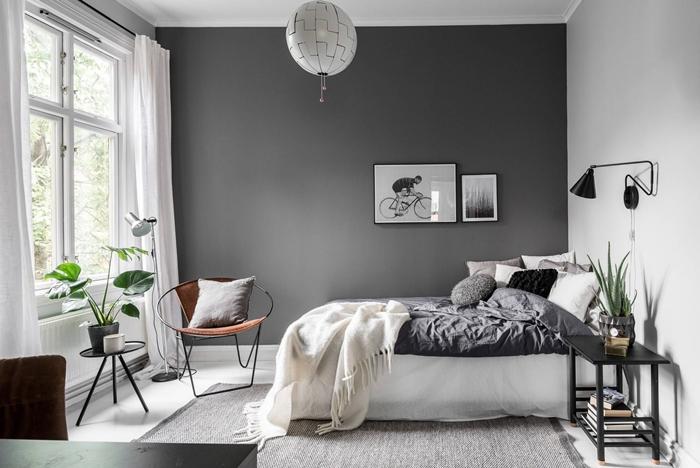 peinture chambre adulte en 2 couleurs
