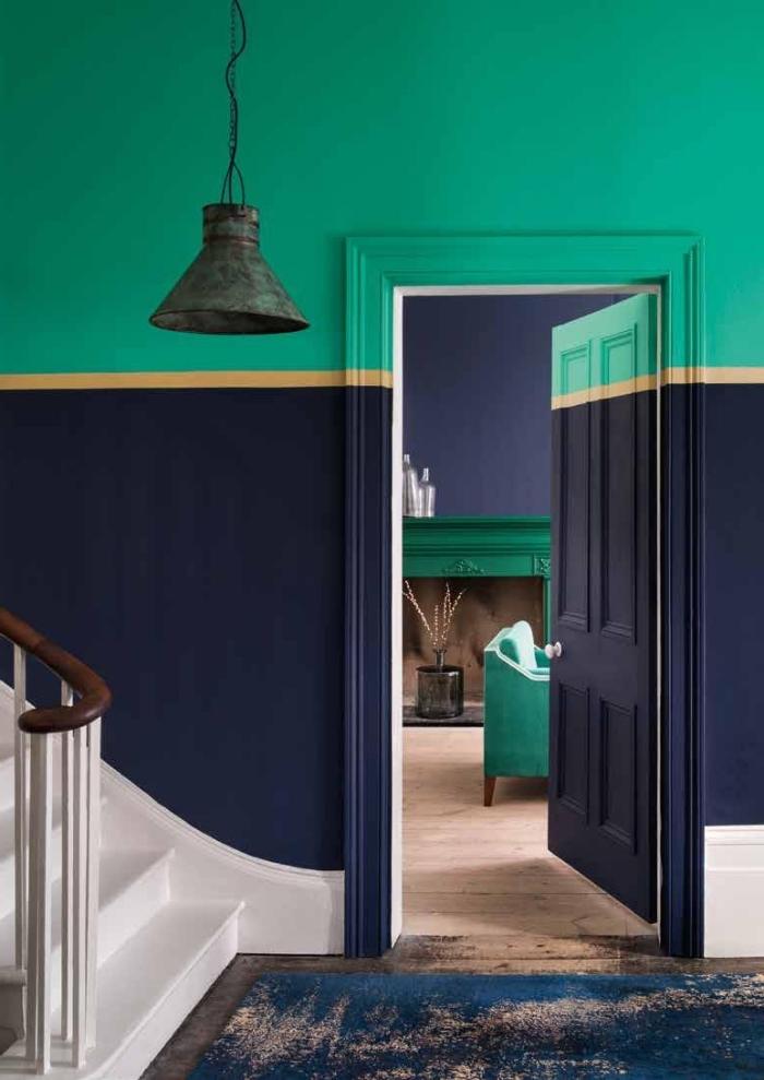 couleurs pour une peinture couloir