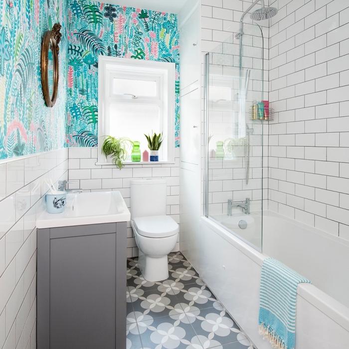1001 exemples de revetement mural pour salle de bain moderne