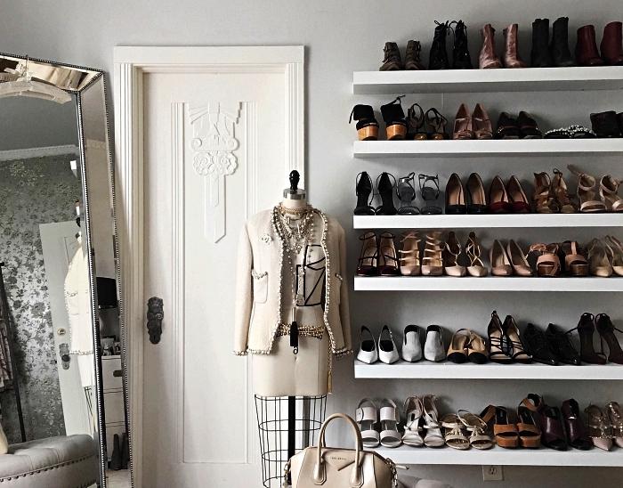 idees pour amenager un dressing a