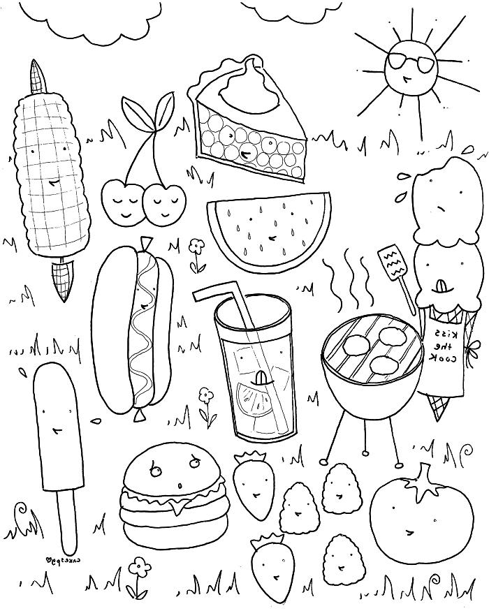 dessin à imprimer: Dessin Kawaii A Imprimer Gratuitement