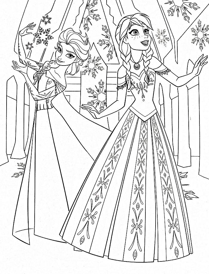 dessin à imprimer: Dessin A Imprimer De Princesse Disney