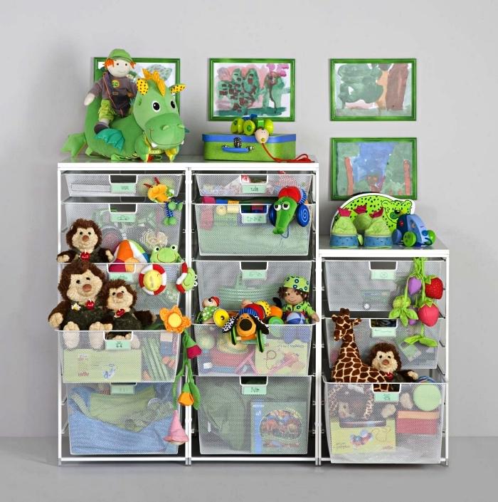 meuble rangement pour jouets