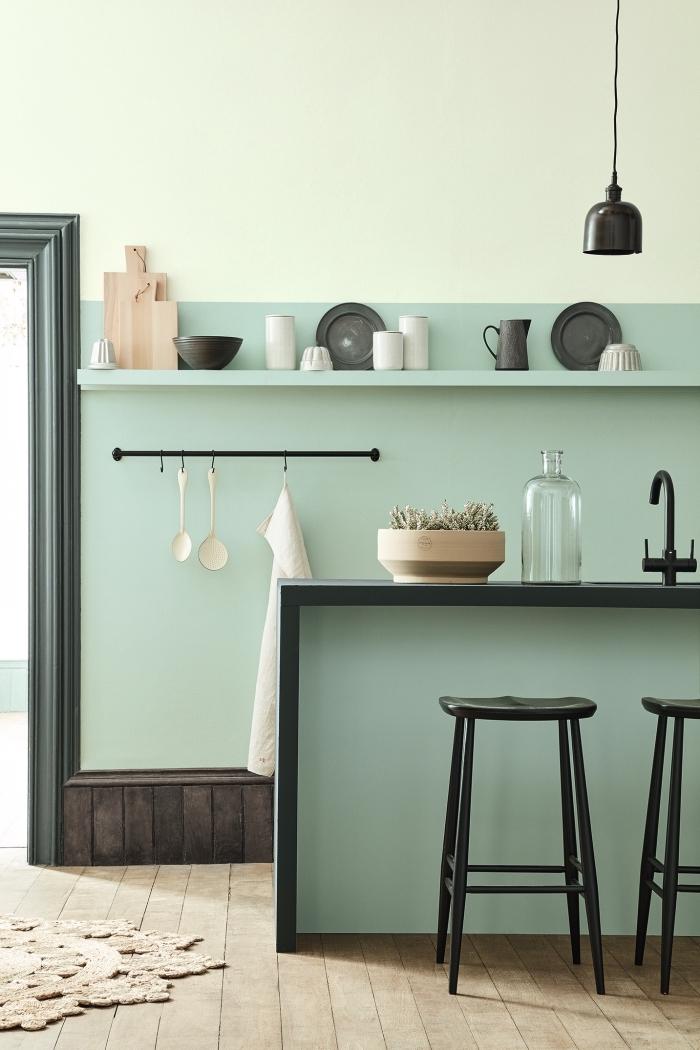1001 modeles de la cuisine verte