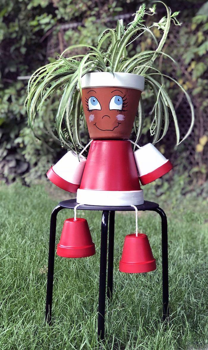 Fabriquer Des Personnages Avec Des Pots De Fleurs : fabriquer, personnages, fleurs, Activités, Printemps, Réaliser, Déco, Fleur, Originale