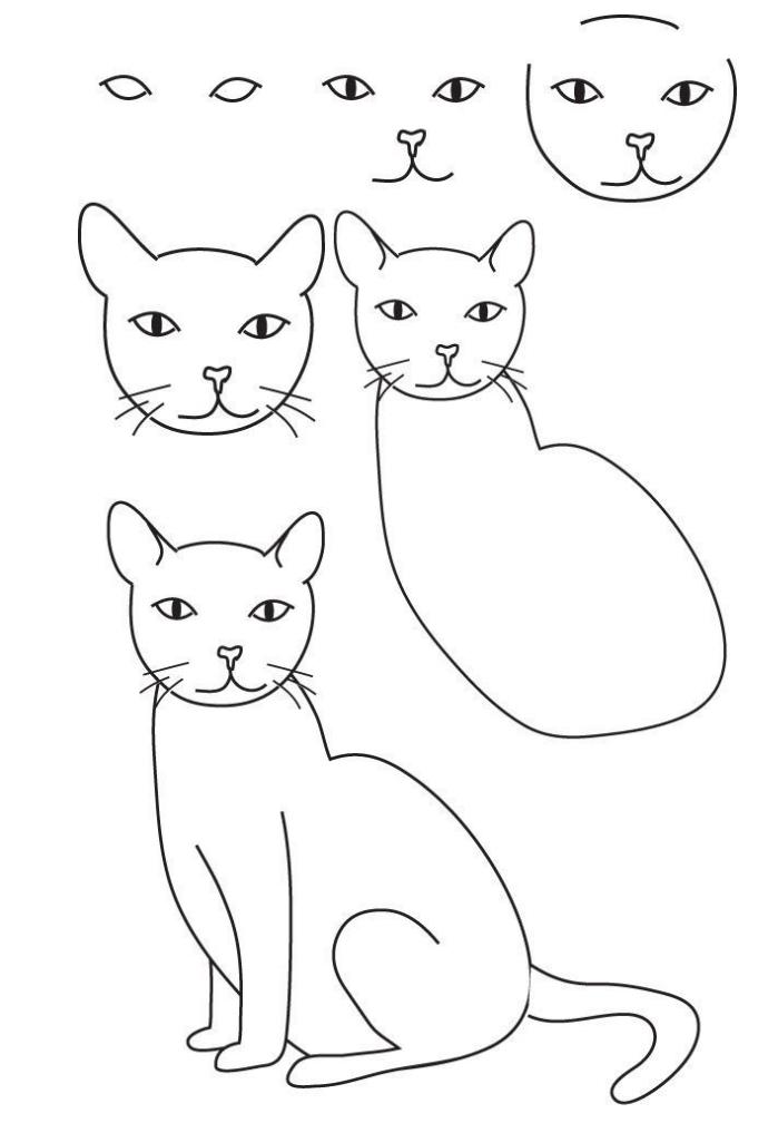 Dessiner un chat | Pearltrees