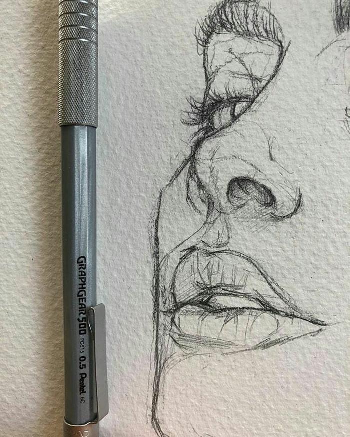 Dessin Au Crayon A Papier : dessin, crayon, papier, Idées, Dessin, Crayon, S'inspirer
