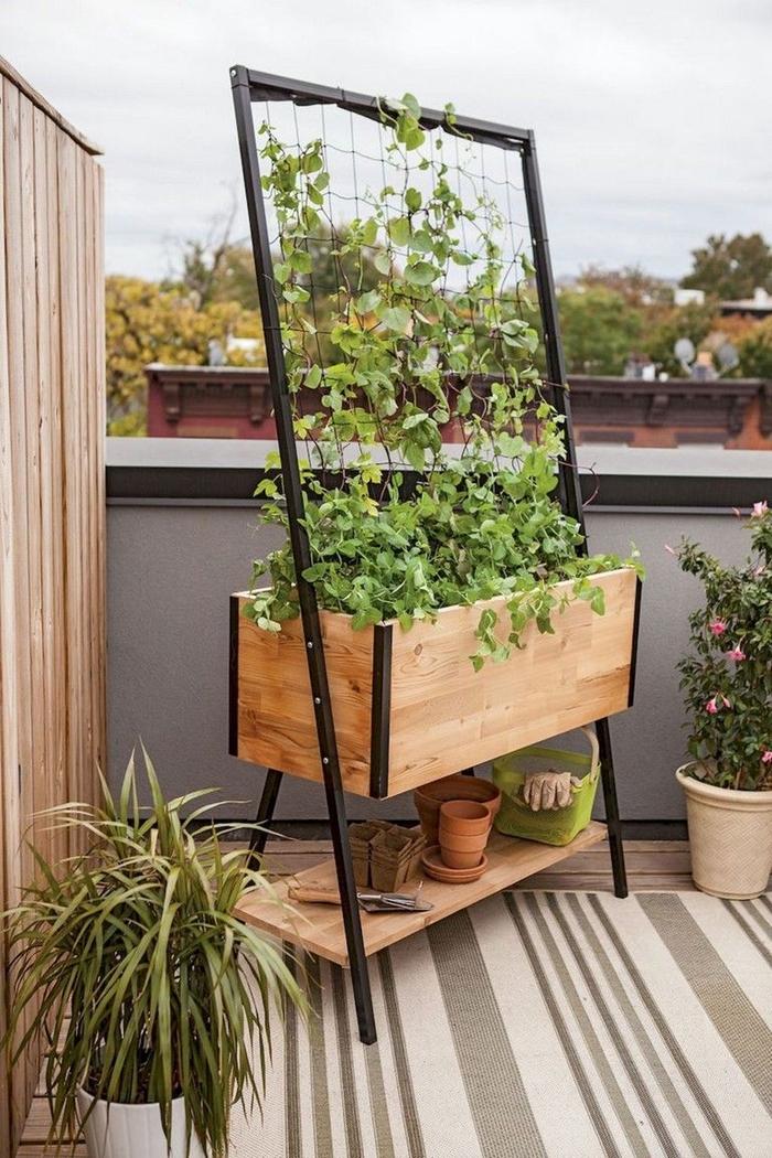 modeles de jardiniere pour balcon ou