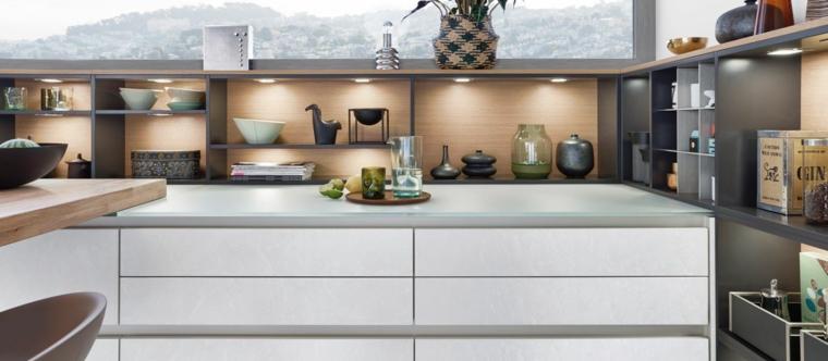 Mensole  design idee e tendenze nella cucina  Archzineit