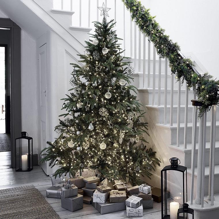 Bianco Natale tante idee per addobbi eleganti e romantici
