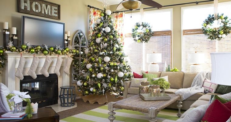 Addobbi natalizi shabby chic  idee da togliere il fiato  Archzineit