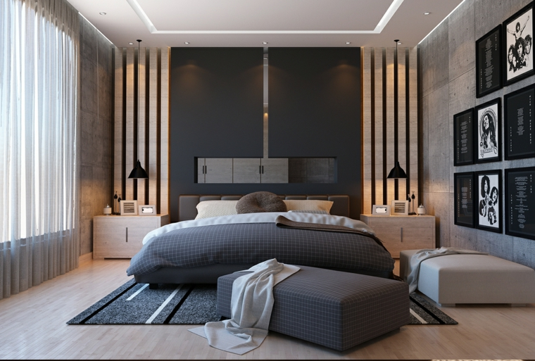 Come arredare una camera da letto in stile classico o moderno: 1001 Idee Per Arredamento Camera Da Letto Moderna