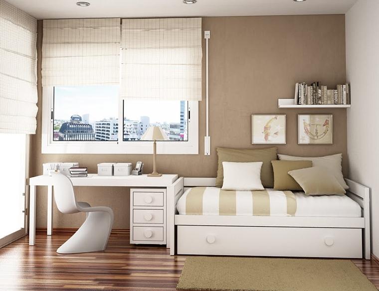 Arredare camera da letto piccola  idee salvaspazio