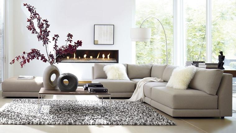 Arredamento del soggiorno in stile contemporaneo questo stile di arredamento, anche se soggetto a continue evoluzioni, risponde a precise regole di spazio, attraverso linee esatte ed essenziali. Soggiorno Contemporaneo Arredo Moderno Di Stile
