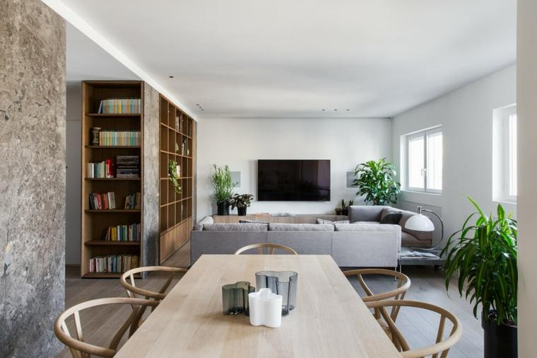 Stiamo parlando di un unico ambiente in cui vengono unite zone della casa che potrebbero essere separate da muri. Open Space Cucina E Salotto Con Design Moderno 2 In 1 Archzine It