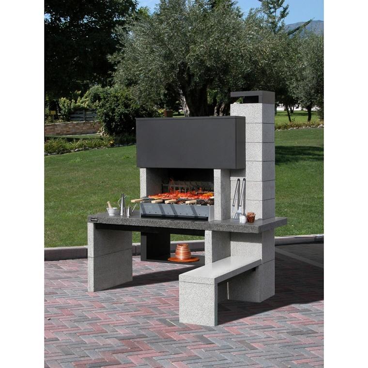Barbecue in muratura progetto e costruzione fai da te  Archzineit