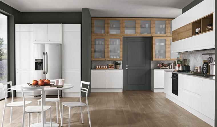 Cucine con frigo esterno e tanto altro per una cucina moderna  Archzineit