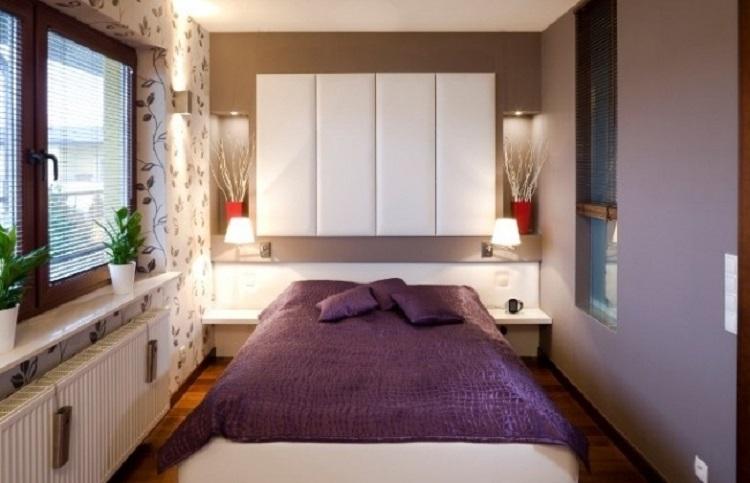 Secondo esempio potete usare sottili pannelli dipinti di bianco come sfondo a uno splendido ritratto sul muro dietro il letto. Stanze Da Letto 12 Idee Funzionali Per Uno Spazio Piccolo Archzine It