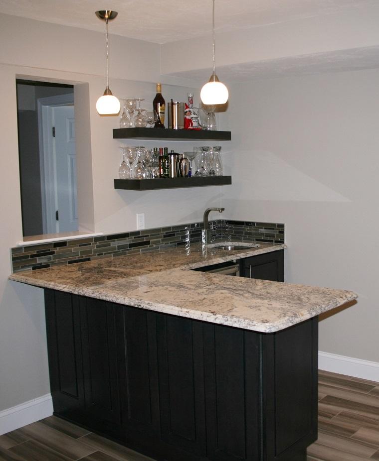 Woltu tavolo con 2 sgabelli alti set mobili da bar bancone per cucina in acciaio. Mobile Bar 18 Proposte Dal Rustico Al Moderno Per Creare Un Area Bar In Casa Archzine It
