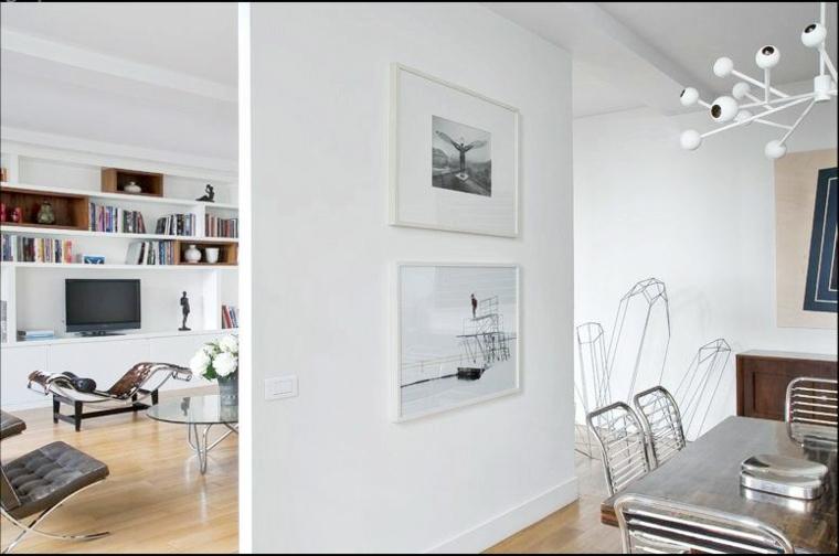 Parete divisoria per un soggiorno alla moda e di design  Archzineit