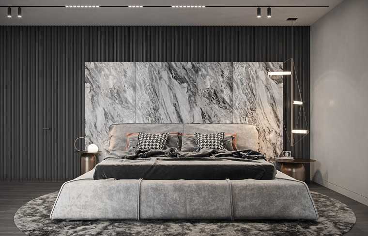 Originale camera da letto stile rustico moderno con la testata che si. Camere Da Letto Moderne Consigli E Idee Arredamento Di Design Archzine It