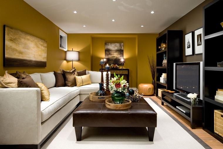 Arredare il soggiorno idee per uno spazio piccolo ma
