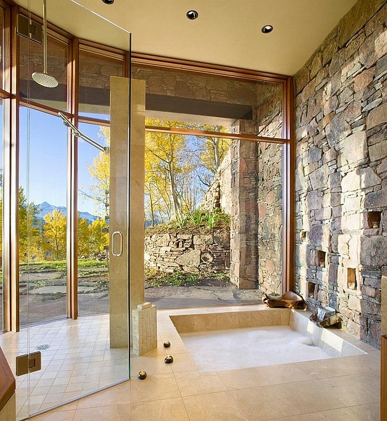 Bagni in muratura 24 idee imperdibili per arredare con un tocco rustico  Archzineit